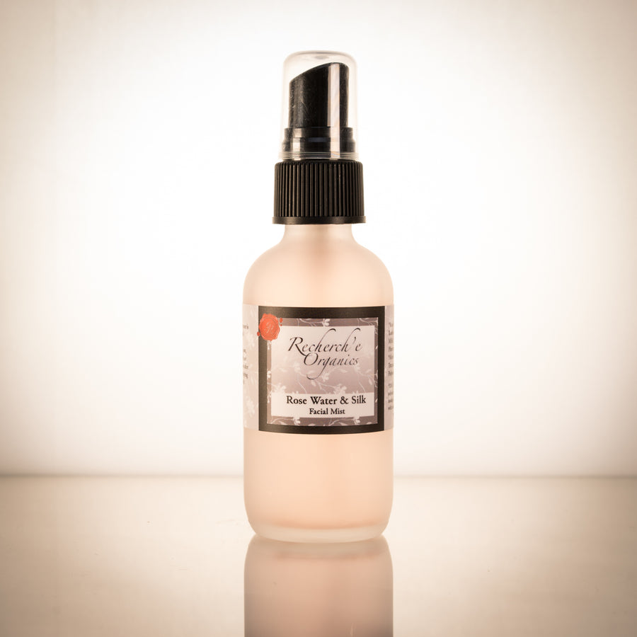 Hand Made Facial Mist - Rose and Silk