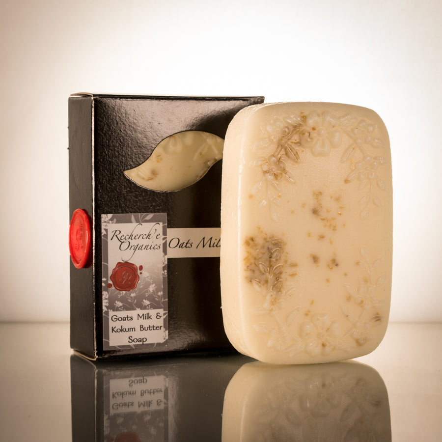 Hand Crafted Soap - Oats Milk and Honey