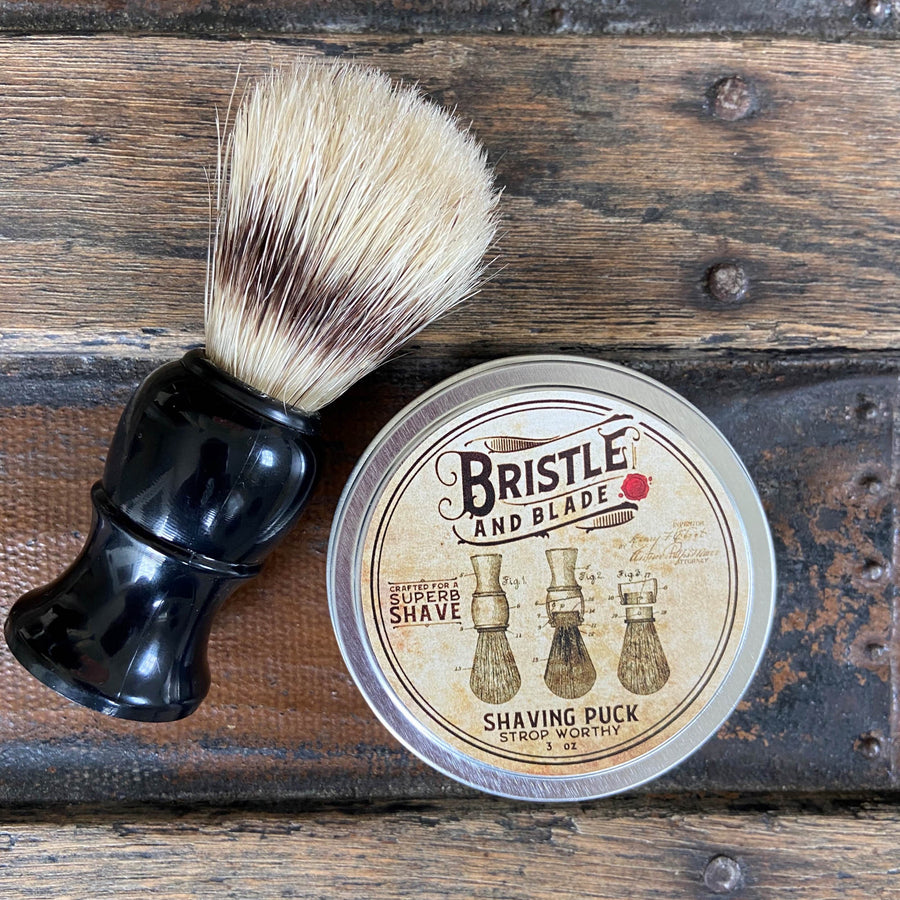 Travel Tin Shaving Puck