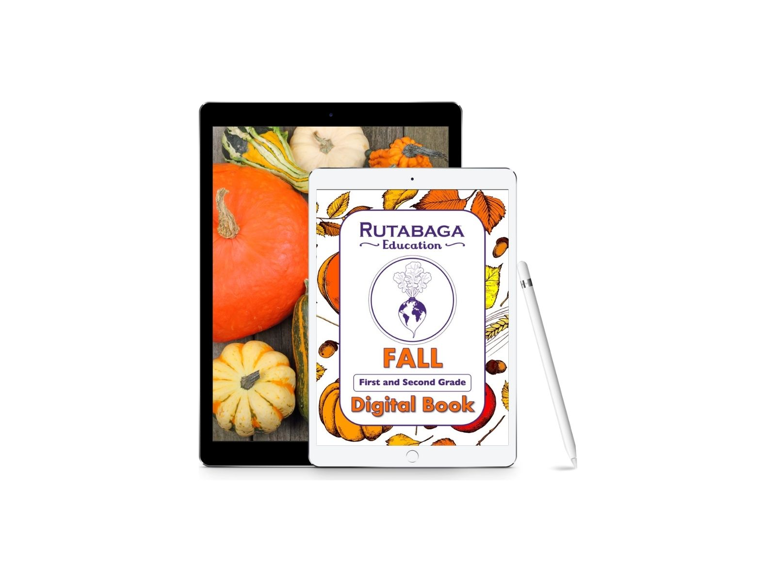 First and Second Grade Fall Digital Book