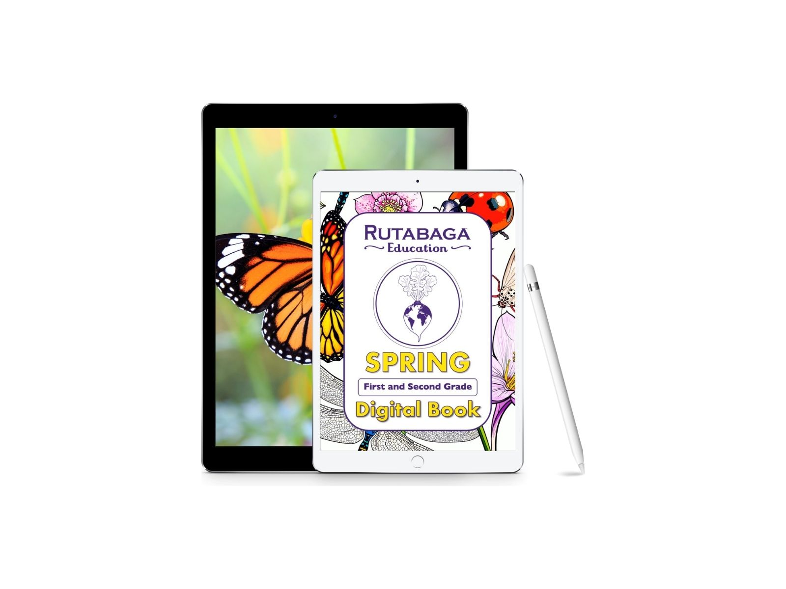 First and Second Grade Spring Digital Book