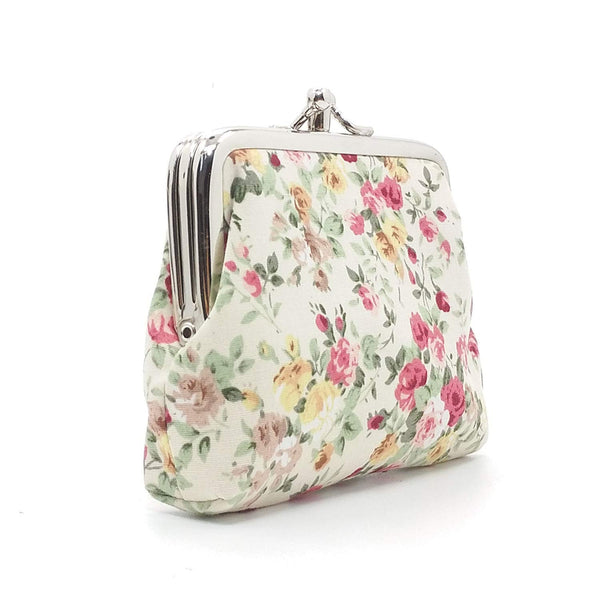 Sanxiner Floral Buckle Women's Coin Purses