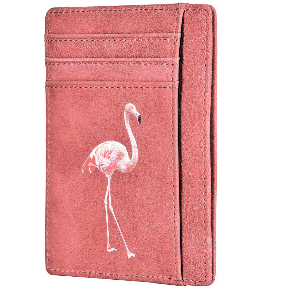 c32420c9bc3f Spiex Slim Minimalist Flamingo Pink Wallet – Carry Wallet