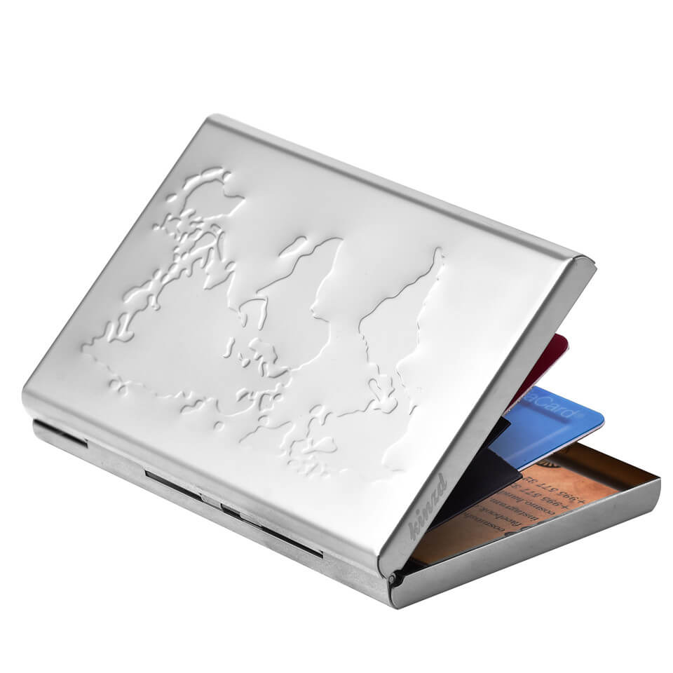 Stainless Steel Metal Card Holder Wallet