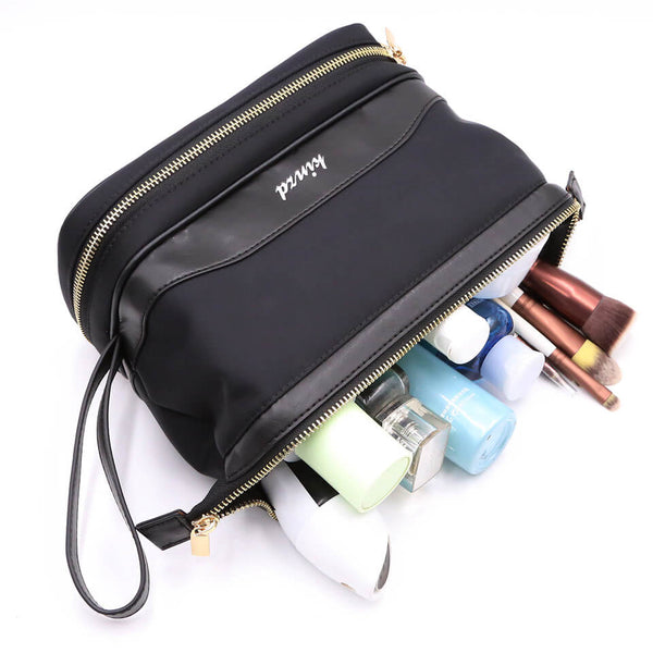 Kinzd Women's Travel Cosmetic Bag Organizer