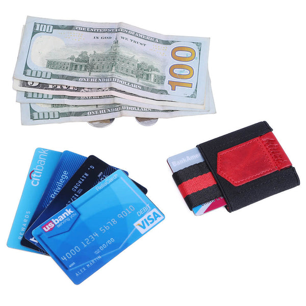 Kinzd Minimalist Slim Wallet Credit Card Holder