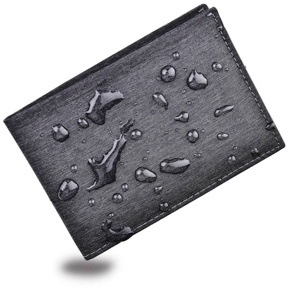 Kinzd Waterproof Slim RFID Mens Bifold Wallet