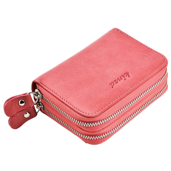 Kinzd Womens RFID Blocking Wallet Accordian Credit Card Holder