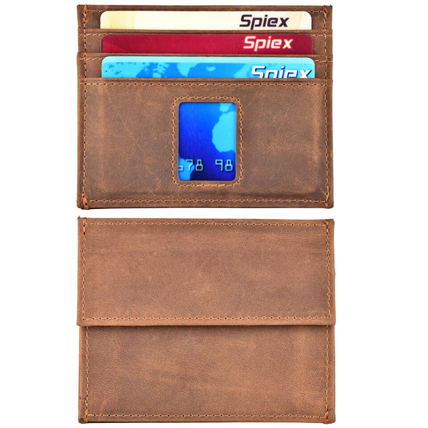 Slim Wallet Front Pocket RFID Card Holder