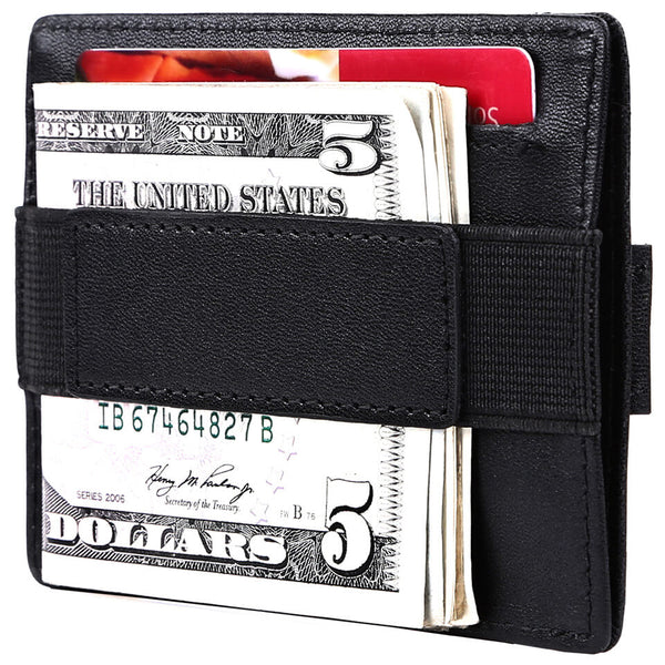 Spiex Genuine Leather Slim Front Pocket Wallet