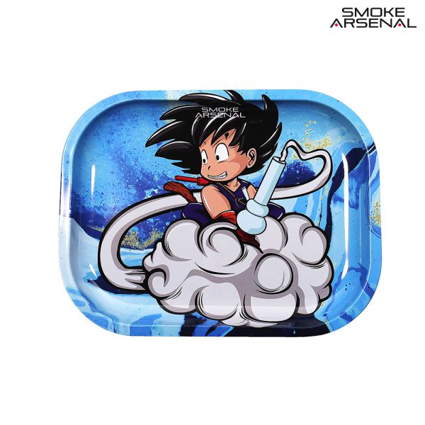 DRAGONBALL Z METAL ROLLING TRAY SMALL BY SMOKE ARSENAL