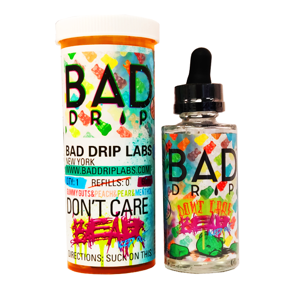 BAD DRIP LABS - DON'T CARE BEAR ICED OUT 50ml SHORTFILL E-LIQUID