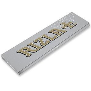 RIZLA SILVER KINGSIZE SLIM - ULTRA THIN ROLLING PAPERS