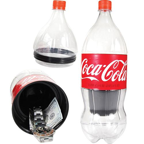 2 LITRE COCA COLA BOTTLE STASH SAFE