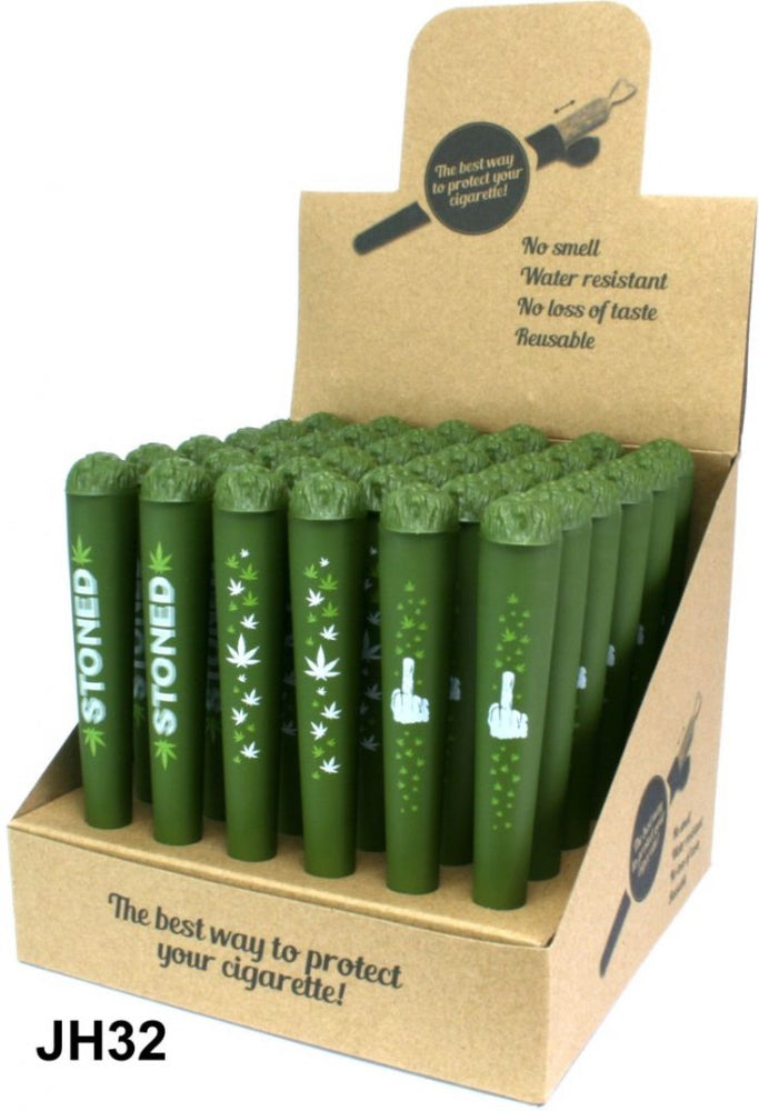 DOOB TUBE KINGSIZE JOINT CIGARETTE HOLDER - ARMY GREEN
