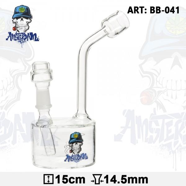 AMSTERDAM NECKLACE DAB BONG - OIL RIG