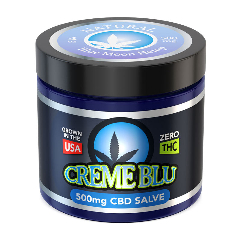 BLUE MOON CBD - NATURAL CREME BLU SALVE - 250mg CBD