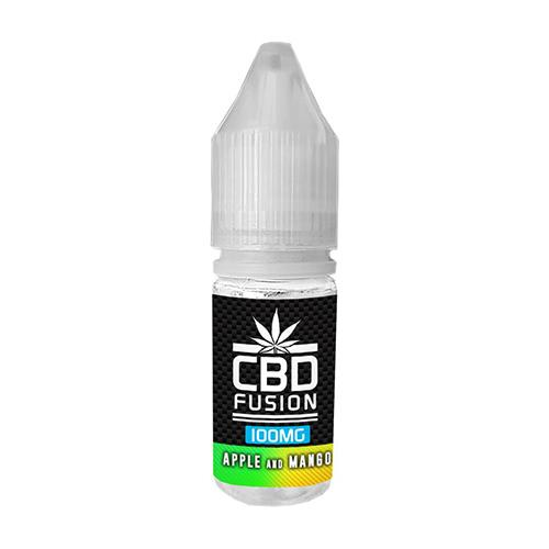 CBD FUSION - APPLE AND MANGO CBD E-LIQUID 10ml