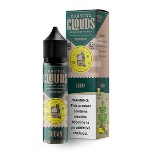 COASTAL CLOUDS CUBAN 50ml SHORTFILL E-LIQUID
