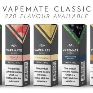 VAPE MATE CLASSIC - RASPBERRY COTTON CANDY 70VG/30PG