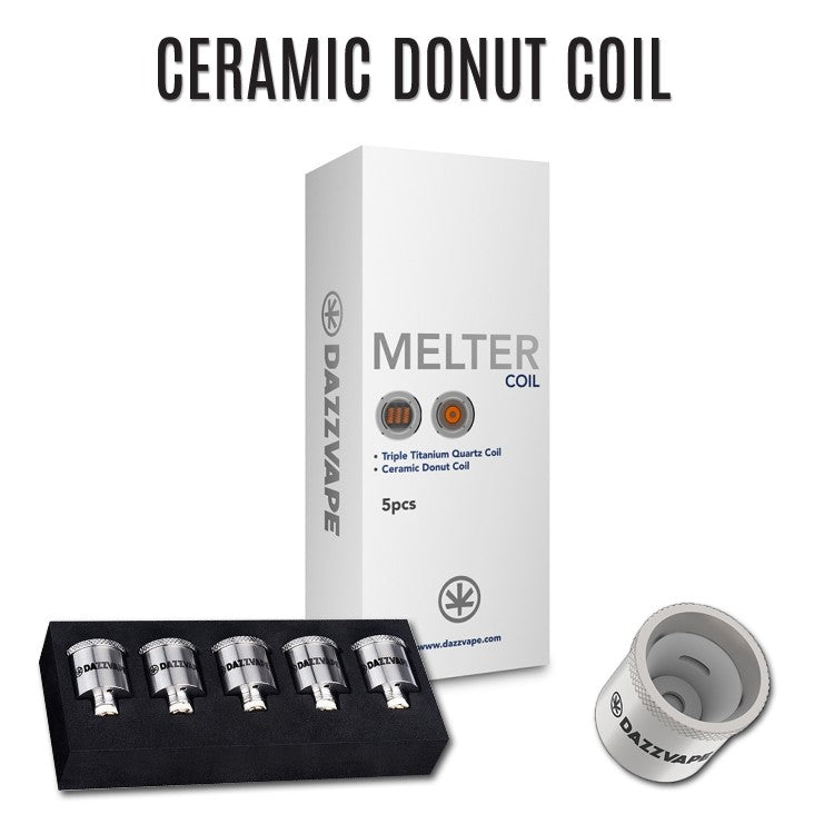 DAZZ VAPE MELTER - DONUT COIL (FOR SOLIDS/CONCENTRATES)