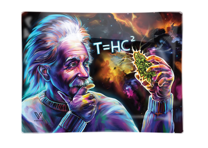 "EINSTEIN T=HC2 ""BLACK HOLE"" ROLLING TRAY BY V SYNDICATE - SMALL OR MEDIUM"