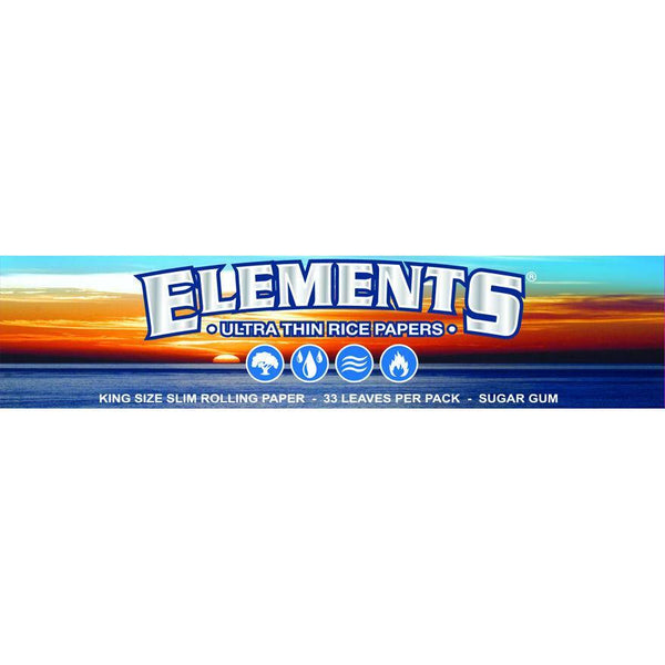 ELEMENTS KINGSIZE SLIM ROLLING PAPERS