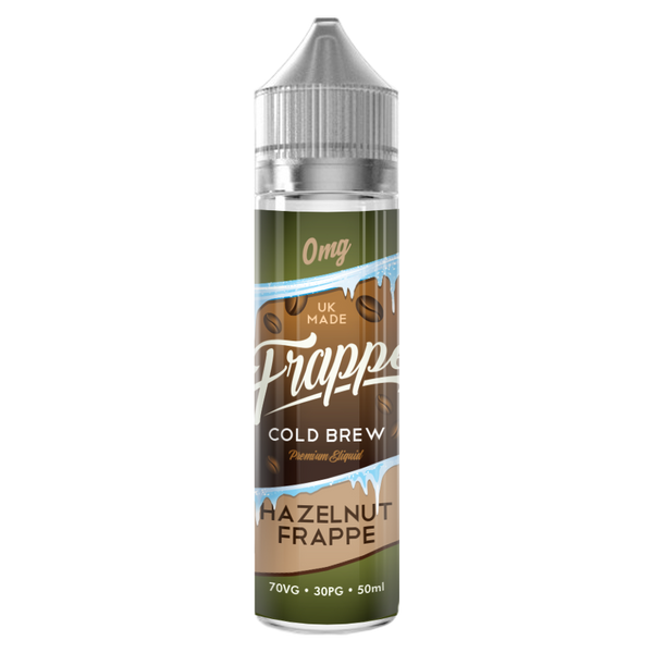 FRAPPE - HAZELNUT FRAPPE 50ml - 70/30 SHORTFILL E-LIQUID