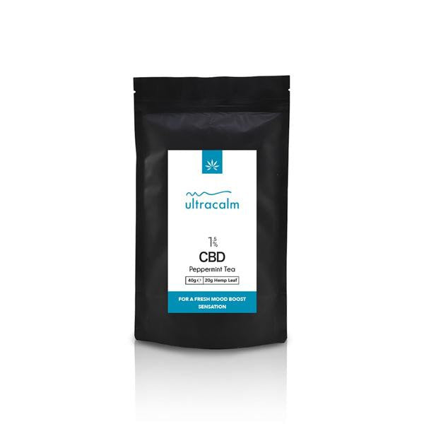 ULTRACALM CBD - 3% CBD PEPPERMINT TEA - 40g