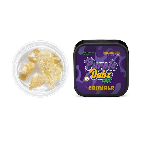 PURPLE DABZ CBD CRUMBLE - CANNABIS TERPENE INFUSED