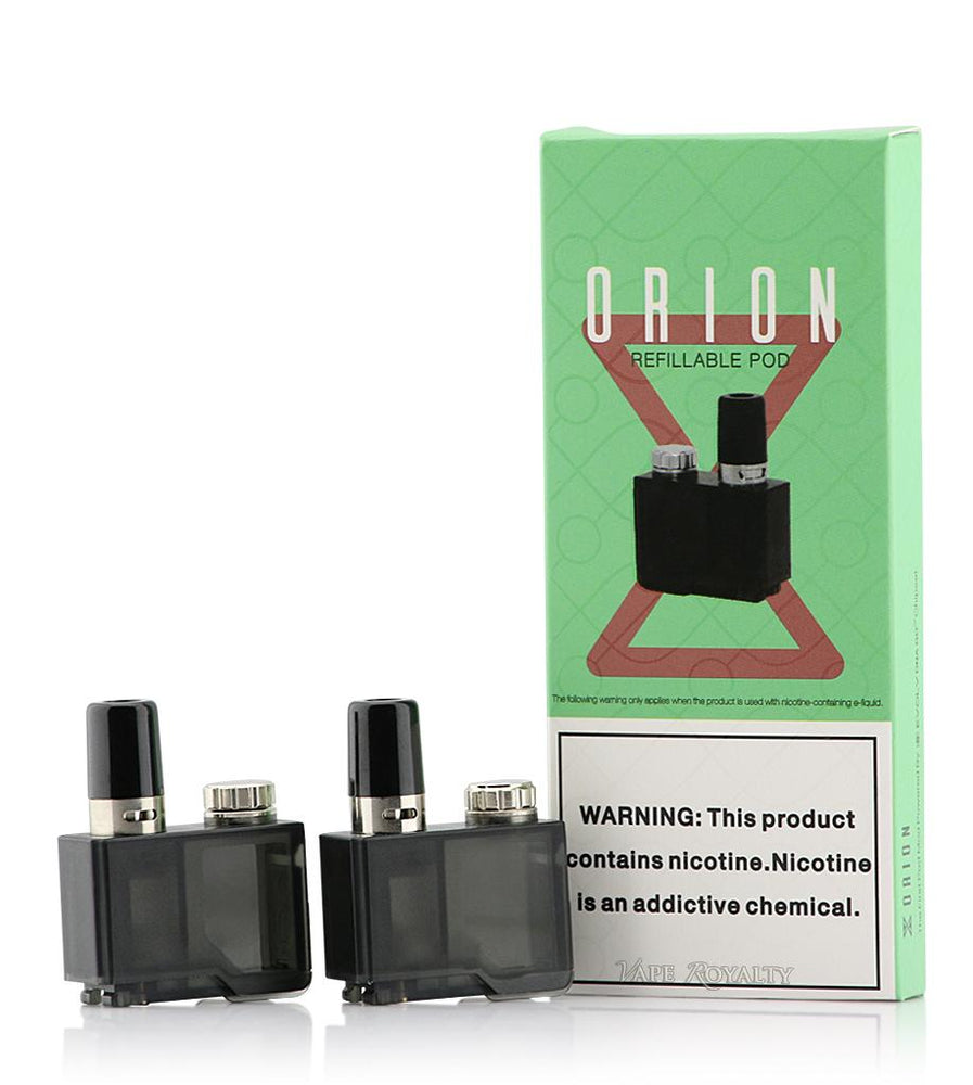 LOST VAPE ORION DNA REFILLABLE PODS -  0.25ohm SS ORGANIC COTTON