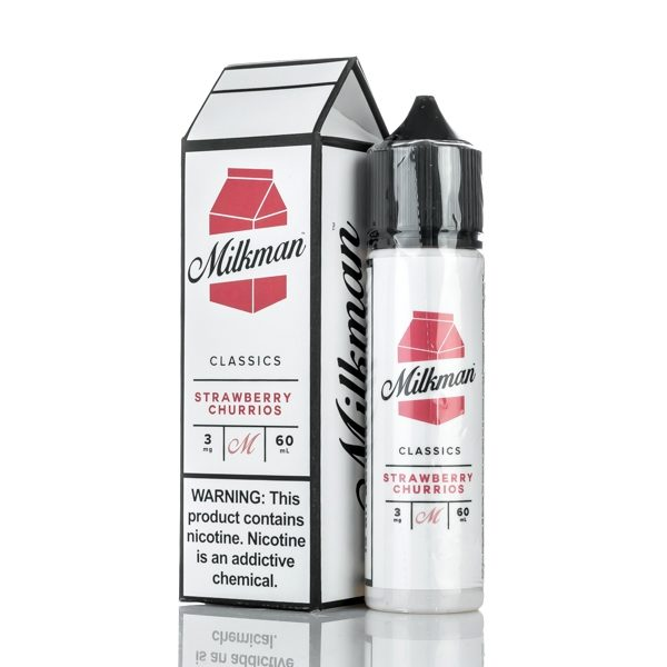 THE MILKMAN - STRAWBERRY CHURRIOS 50ml SHORTFILL E-LIQUID