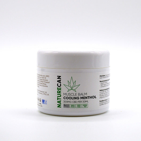NATURECAN 300mg CBD - COOLING MENTHOL BALM 30ml