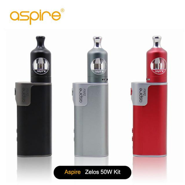 ASPIRE ZELOS 50W KIT WITH NAUTILUS 2 TANK - 2500Mah