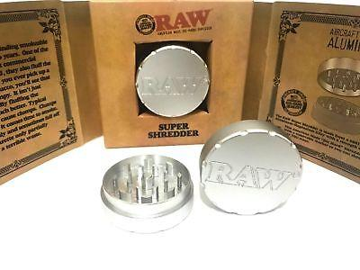 RAW CNC 50mm SUPER SHREDDER 2 PART GRINDER