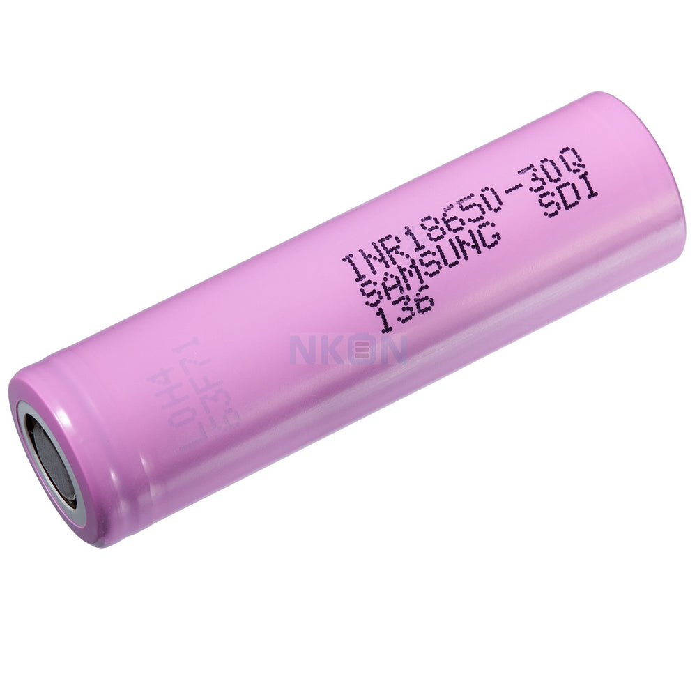 SAMSUNG 30Q 18650 3000MAH RECHARGEABLE BATTERY