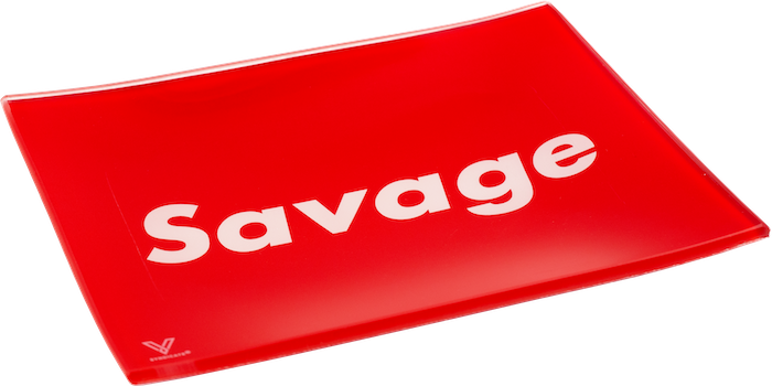 SAVAGE SUPREME ROLLING TRAY BY V SYNDICATE - SMALL OR MEDIUM