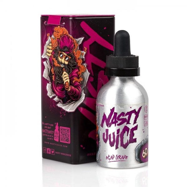 NASTY JUICE - ASAP GRAPE 50ml SHORTFILL E-LIQUID