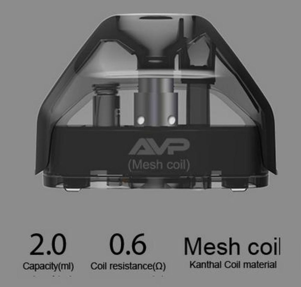 ASPIRE AVP REPLACEMENT 0.6ohm MESH PODS