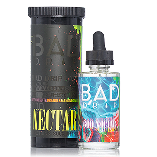 BAD DRIP LABS - GOD NECTAR 50ml SHORTFILL E-LIQUID