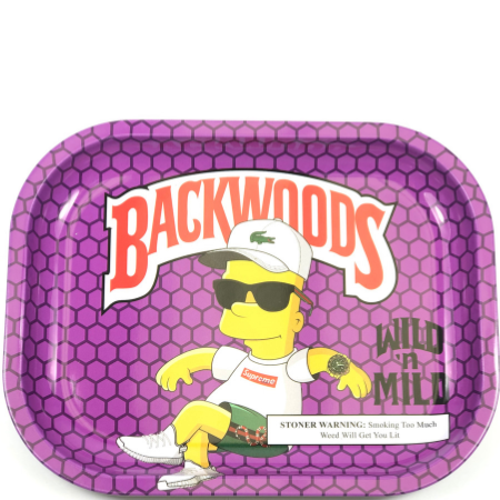 BACKWOODS WILD N MILD - BART SIMPSON ROLLING TRAY