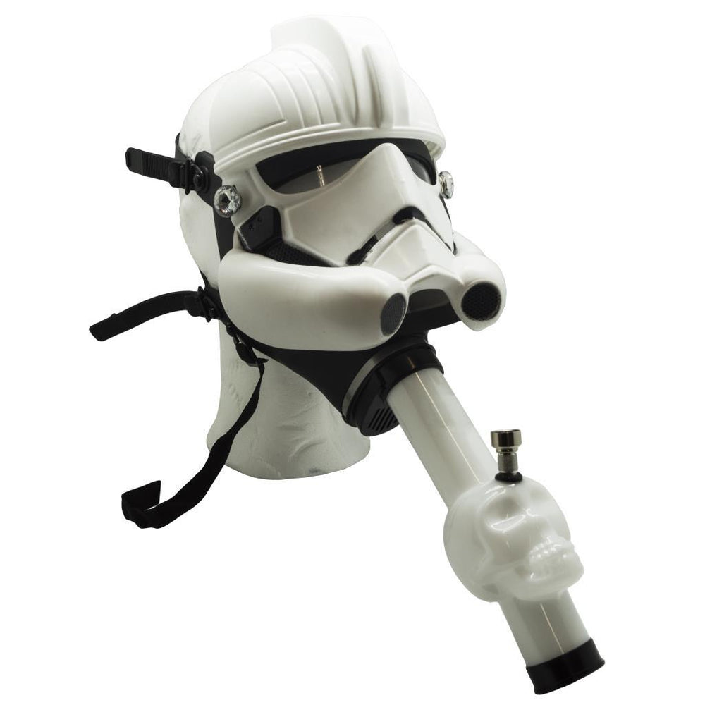 STAR WARS STORM TROOPER GAS MASK BONG