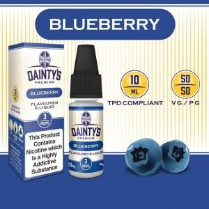 DAINTY'S 10ml - BLUEBERRY 50/50 E-LIQUID