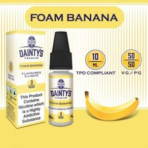 DAINTY'S 10ml - FOAM BANANAS 50/50 E-LIQUID