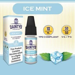 DAINTY'S 10ml - ICE MINT 50/50 E-LIQUID
