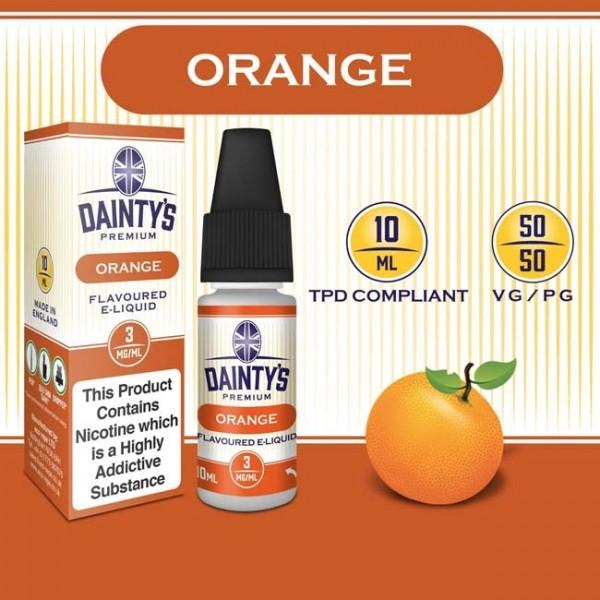 DAINTY'S 10ml - ORANGE 50/50 E-LIQUID