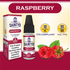 DAINTY'S 10ml - RASPBERRY 50/50 E-LIQUID