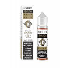 SEA SALT, SAVOURY CARAMEL ICE CREAM - CHARLIES CHALK DUST 50ml SHORTFILL
