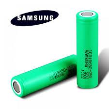 SAMSUNG 18650 BATTERY - 25R 2500mah