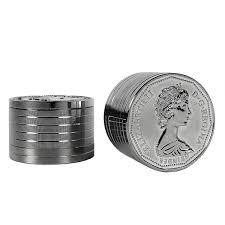 SILVER COIN GRINDER - 3 PART 40mm METAL GRINDER